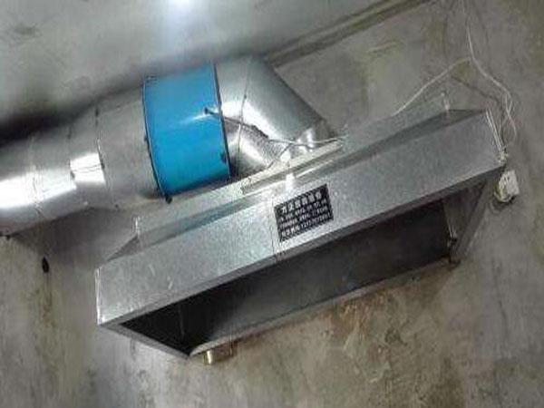 酒店厨房油烟机安装